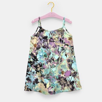 Thumbnail image of Bloom Floral Camouflage  Girl's Dress, Live Heroes