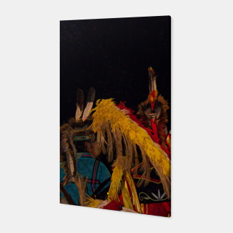 Thumbnail image of Dancing Feathers Canvas, Live Heroes