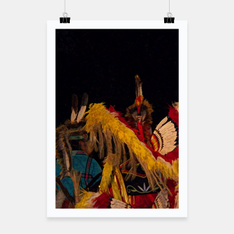 Thumbnail image of Dancing Feathers Poster, Live Heroes