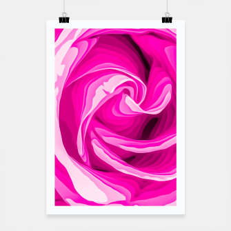 Thumbnail image of closeup fresh pink rose texture abstract background Poster, Live Heroes