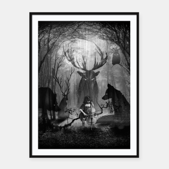 Thumbnail image of Concerto Framed poster, Live Heroes