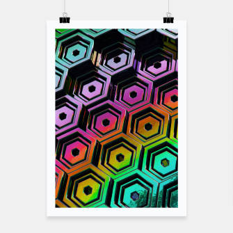 Thumbnail image of Hexa Poster, Live Heroes