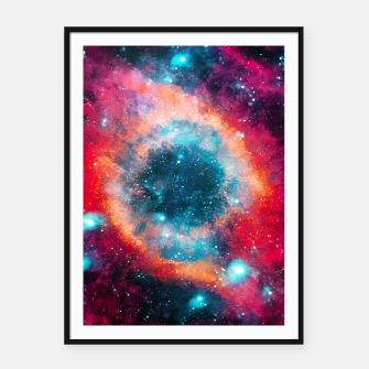 Thumbnail image of The Great of Nebula Framed poster, Live Heroes