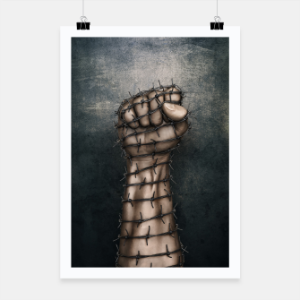 Thumbnail image of Hard Religion Poster, Live Heroes