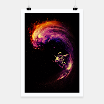 Thumbnail image of Space Surfing Poster, Live Heroes