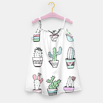 Thumbnail image of Cactus Party Girl's Dress, Live Heroes