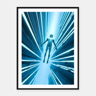 Thumbnail image of Ascension Framed poster, Live Heroes