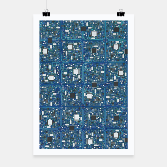 Thumbnail image of Ultimate circuit board Poster, Live Heroes