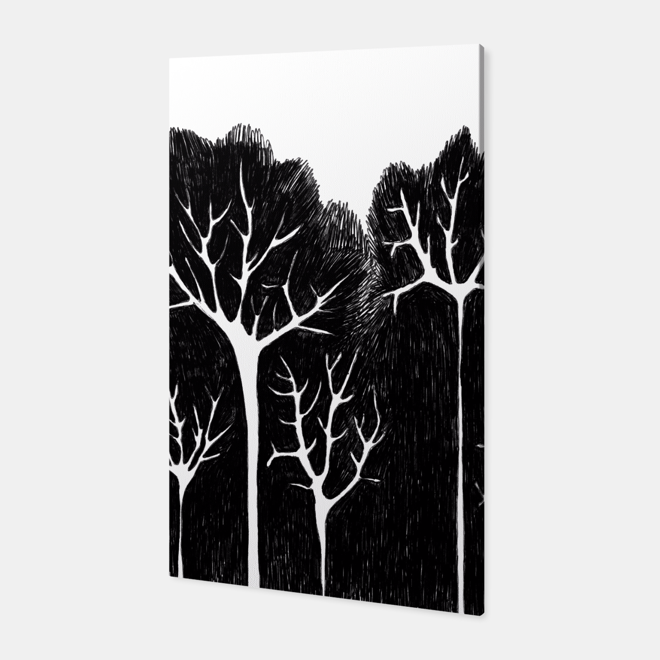 Image of Trees Canvas - Live Heroes
