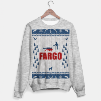 Thumbnail image of  Fargo - Minimal Alternative Movie / TV series Poster Sweater regular, Live Heroes