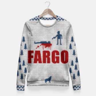 Thumbnail image of  Fargo - Minimal Alternative Movie / TV series Poster Fitted Waist Sweater, Live Heroes