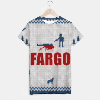Thumbnail image of  Fargo - Minimal Alternative Movie / TV series Poster T-shirt, Live Heroes