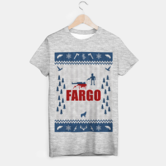 Thumbnail image of  Fargo - Minimal Alternative Movie / TV series Poster T-shirt regular, Live Heroes