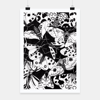 Thumbnail image of Butterflies Poster, Live Heroes