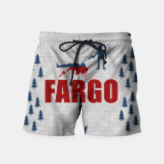 Thumbnail image of  Fargo - Minimal Alternative Movie / TV series Poster Swim Shorts, Live Heroes