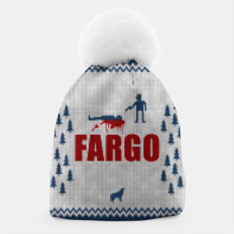 Thumbnail image of  Fargo - Minimal Alternative Movie / TV series Poster Beanie, Live Heroes