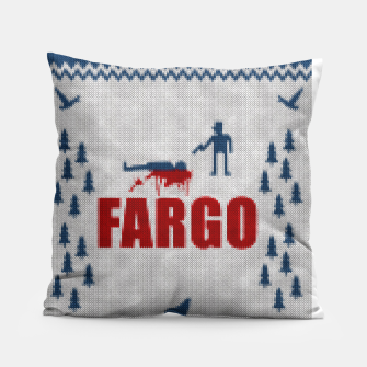 Thumbnail image of  Fargo - Minimal Alternative Movie / TV series Poster Pillow, Live Heroes