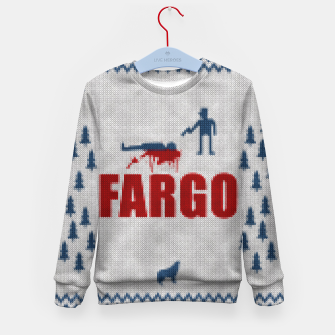 Thumbnail image of  Fargo - Minimal Alternative Movie / TV series Poster Kid's Sweater, Live Heroes