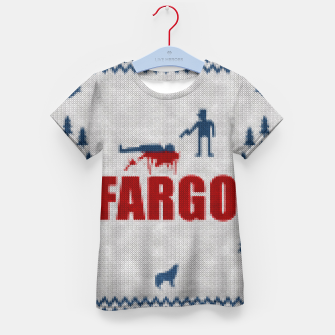 Thumbnail image of  Fargo - Minimal Alternative Movie / TV series Poster Kid's T-shirt, Live Heroes