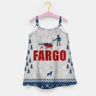 Thumbnail image of  Fargo - Minimal Alternative Movie / TV series Poster Girl's Dress, Live Heroes