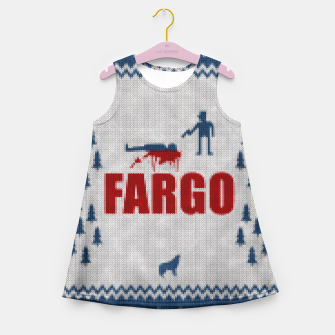 Thumbnail image of  Fargo - Minimal Alternative Movie / TV series Poster Girl's Summer Dress, Live Heroes