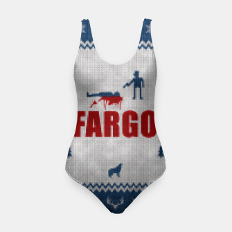 Thumbnail image of  Fargo - Minimal Alternative Movie / TV series Poster Swimsuit, Live Heroes