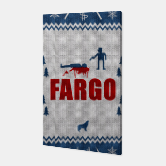 Thumbnail image of  Fargo - Minimal Alternative Movie / TV series Poster Canvas, Live Heroes