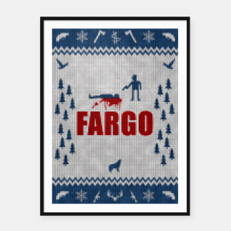 Thumbnail image of  Fargo - Minimal Alternative Movie / TV series Poster Framed poster, Live Heroes