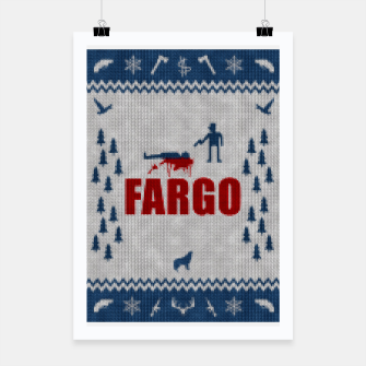 Thumbnail image of  Fargo - Minimal Alternative Movie / TV series Poster Poster, Live Heroes