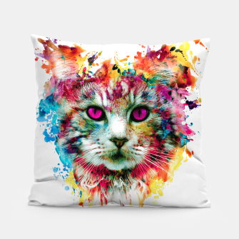 Thumbnail image of cat II Pillow, Live Heroes