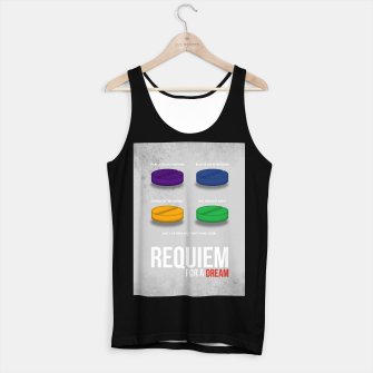 Thumbnail image of Requiem for a Dream - Minimal Movie Poster Tank Top regular, Live Heroes