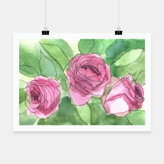 Thumbnail image of Roses Poster, Live Heroes