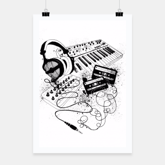 Thumbnail image of Music Poster, Live Heroes