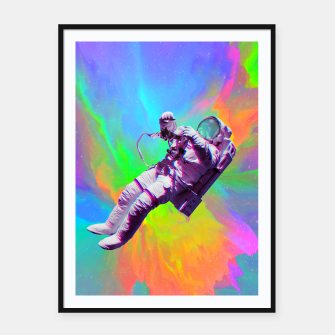 Thumbnail image of Floating Framed poster, Live Heroes