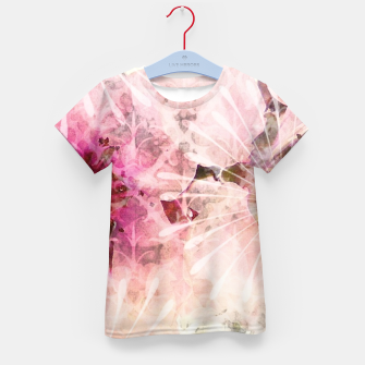 Thumbnail image of Pink is beautiful - 1 - Afternoon burst Enfantin T-shirt, Live Heroes