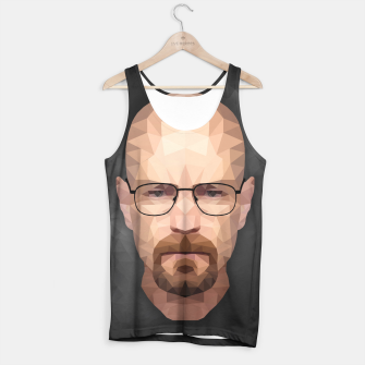 Thumbnail image of Walter White - Portrait - Low Poly Tank Top, Live Heroes