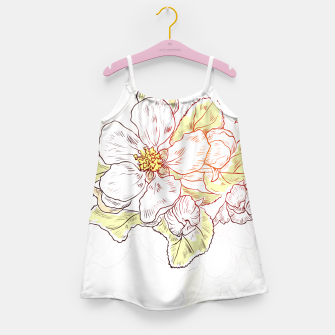Thumbnail image of Pretty Summer Flowers Girl's Dress, Live Heroes