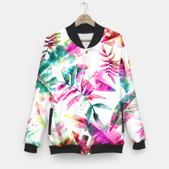 Thumbnail image of Tropical Baseball Jacket, Live Heroes