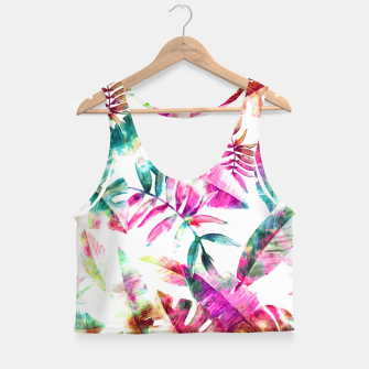 Miniaturka Tropical Crop Top, Live Heroes