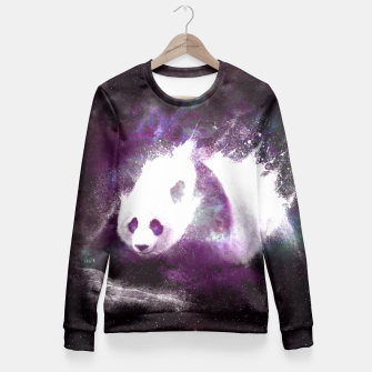 Thumbnail image of Cosmic Panda Fitted Waist Sweater, Live Heroes