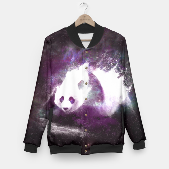 Thumbnail image of Cosmic Panda Baseball Jacket, Live Heroes