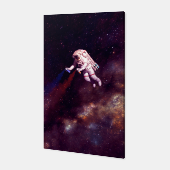 """Thumbnail image of """"Shooting Stars"""" (Cropped) Vertical Canvas, Live Heroes"""