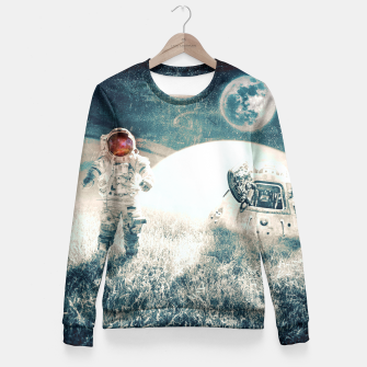 Thumbnail image of Distant Traveler Fitted Waist Sweater, Live Heroes