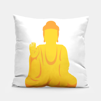 Thumbnail image of Golden Buddha Pillow, Live Heroes