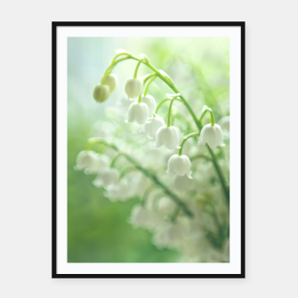 Thumbnail image of Lily of the valley Plakaty w ramie , Live Heroes