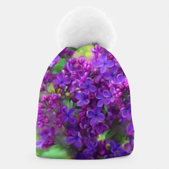Thumbnail image of Watercolor Lilac Beanie, Live Heroes