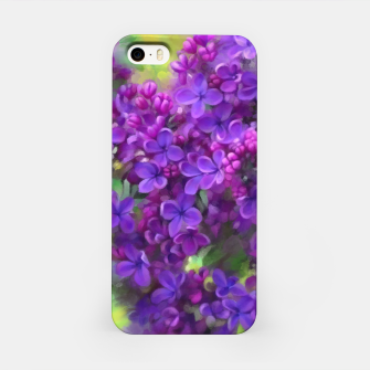 Thumbnail image of Watercolor Lilac iPhone Case, Live Heroes