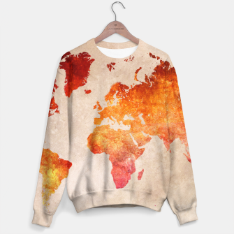 Thumbnail image of world map red Bluza, Live Heroes