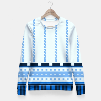 Thumbnail image of Blue Industry Fitted Waist Sweater, Live Heroes