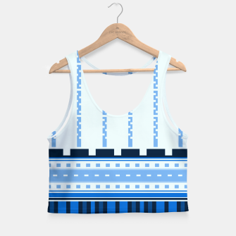 Thumbnail image of Blue Industry Crop Top, Live Heroes